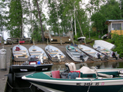 Caribou Lake Lodge Boats