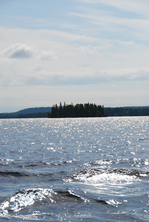 View of Caribou Lake